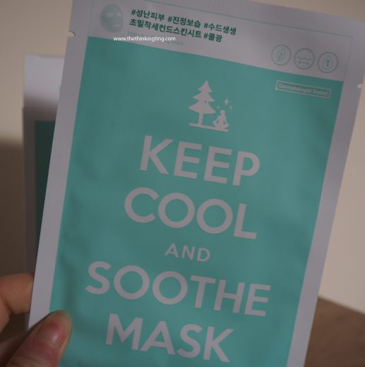 Keep Cool Soothe Intensive Calming Mask review