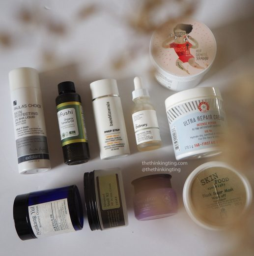 10 skincare products I have that expired before finishing